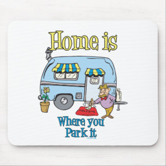 Rv Camping Mouse Mat