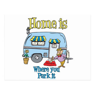 Rv Camping Post Cards