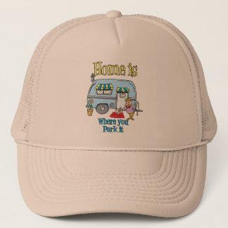 Rv Camping Trucker Hat