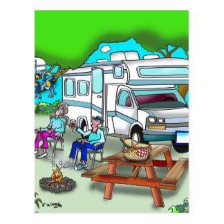 RV Cartoon 9475 Postcard