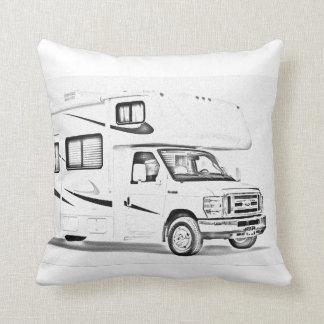 """""""RV"""" design throw pillows"""
