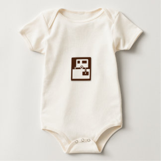 RV Dump Station Baby Bodysuit