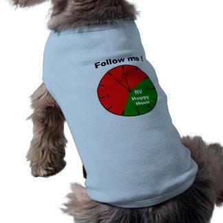 """RV Happy Hour"" dog shirt"