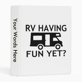 RV Having Fun Yet Funny Wordplay Mini Binder