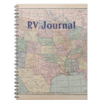 RV Journal Spiral Note Book