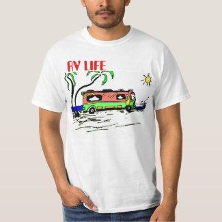 RV Life Bus T-Shirt