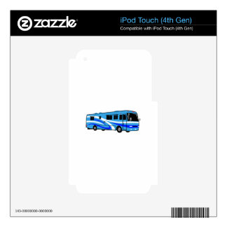 RV Motor Home Decal For iPod Touch 4G