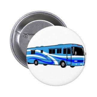 RV Motor Home Pinback Button