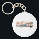 "RV MOTORHOME KEYCHAIN<br><div class=""desc"">Hop in the motor home and enjoy vacation with this design to decorate.</div>"