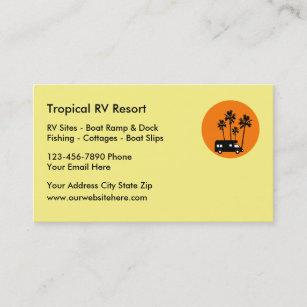 Rv business cards zazzle rv resort travel business cards colourmoves