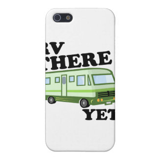 RV THERE YET? (green) Cover For iPhone SE/5/5s