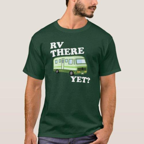 RV THERE YET green DARK T_Shirt