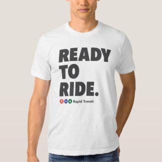 RVA Rapid Transit Ready to Ride T-shirts