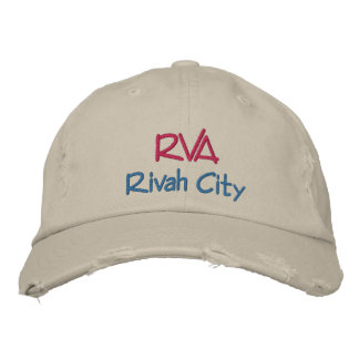 RVA Rivah City Embroidered Baseball Caps