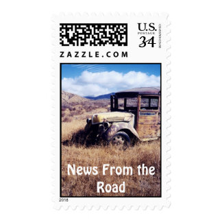 RVers Travel Post Card Stamps