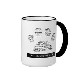 RVT Pawprint mug