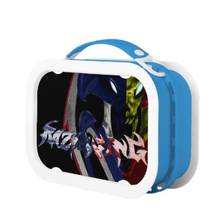 RW HERO'S COLLIDER ALL CRESTS Lunchbox