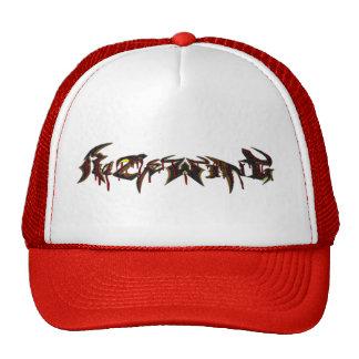 RW RED GOO LETTERING HAT