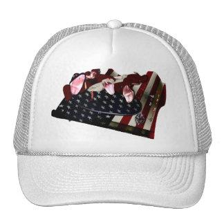 RW SCALES STARS & STRIPES HAT