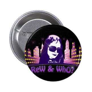 RW-stars-logo_CityScape 2 Inch Round Button