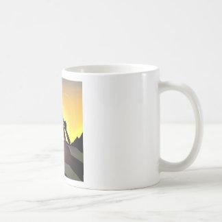RWAC: Cowboy Chainsaw Spade Coffee Mug