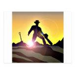 RWAC: Cowboy Chainsaw Spade Post Cards