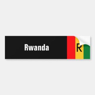 Rwanda Car Bumper Sticker