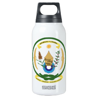 Rwanda Coat of Arms Thermos Bottle