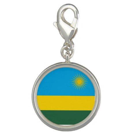 Rwanda Flag Charm