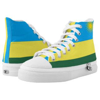 Rwanda Flag Flag -.png High-Top Sneakers