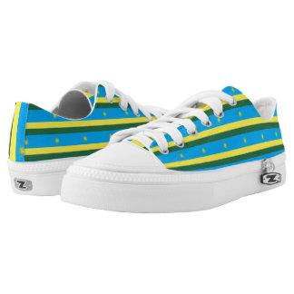 Rwanda Flag Flag -.png Low-Top Sneakers