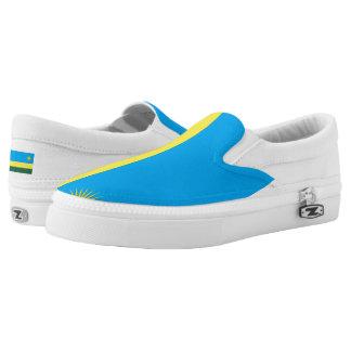 Rwanda Flag Flag -.png Slip-On Sneakers