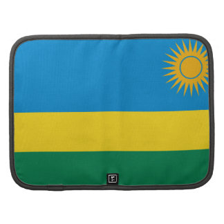 Rwanda Flag Folio Organizer