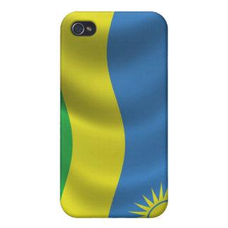 Rwanda Flag for iPhone 4 iPhone 4/4S Cover