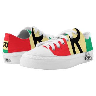 Rwanda Flag -.png Low-Top Sneakers