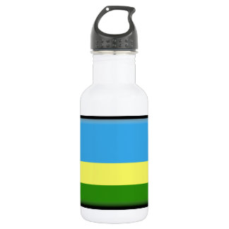 Rwanda Flag Water Bottle