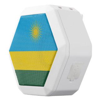 Rwanda Flag White Bluetooth Speaker