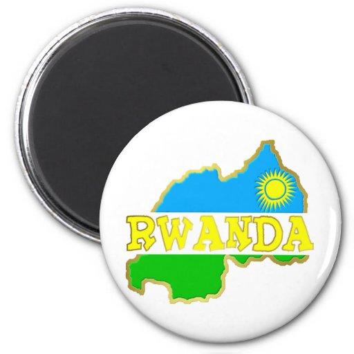 Rwanda Goodies 2 2 Inch Round Magnet