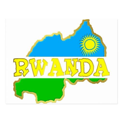 Rwanda Goodies 2 Postcard