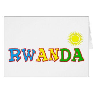 Rwanda Goodies Card