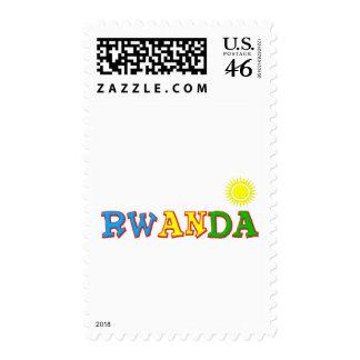 Rwanda Goodies Postage Stamps