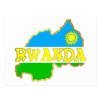 Rwanda Goodies Postcard