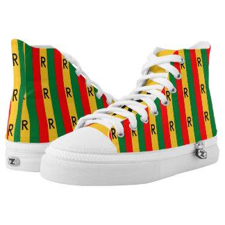 Rwanda High-Top Sneakers