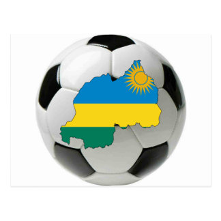 Rwanda national team postcard