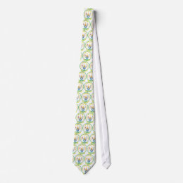 Rwanda Official Coat Of Arms Heraldry Symbol Tie