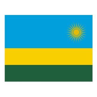 Rwanda – Rwandan Flag Postcard