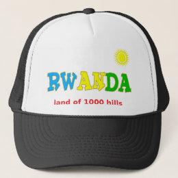 Rwanda, the Land of 1000 hills Trucker Hat