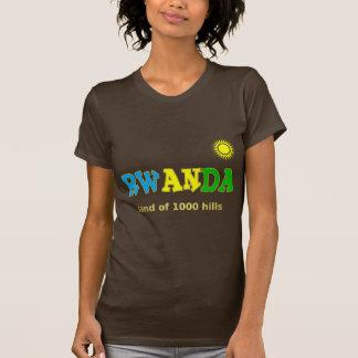 Rwanda the land of 1000 hills tshirt
