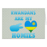 Rwandans es mi Homies Tarjetas