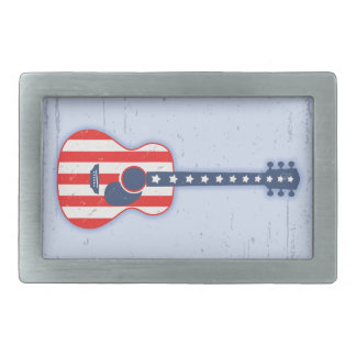 RWB Acoustic Rectangular Belt Buckle